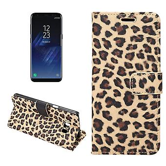 Leopardfodral pour Samsung Galaxy S8 +