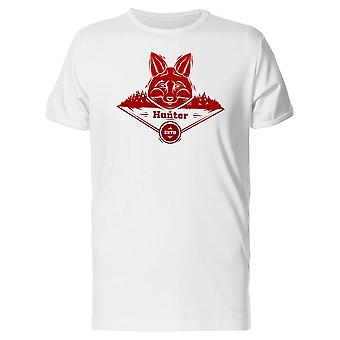 Red Fox Hunter Labe T-Shirt Herren-Bild von Shutterstock