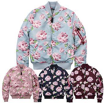 Alpha industries ladies jacket MA-1 VF Flowerprint Wmn