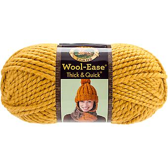 Wool-Ease Thick & Quick Yarn-Mustard