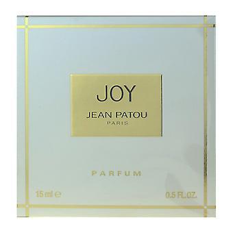 Jean Patou glädje Parfum plaska 0,5 Oz/15 ml ny i Box