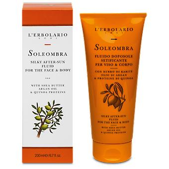 L'Erbolario Solar After Sun Fluid Face and Body (Cosmetics , Body  , Sun protection)