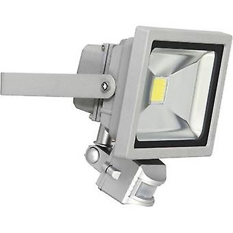 XQ lite XQ-Lite XQ1221 LED outdoor floodlight (+ motion detector) 20 W EEC: LED (A++ - E) Daylight white