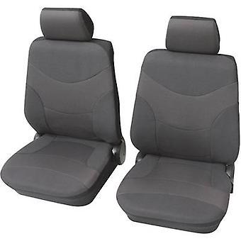 Petex Vesuvius Universal car seat cover set Grey 6 pieces