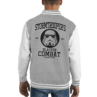 Original Stormtrooper Blaster Combat Coaching Team Kid's Varsity Jacket