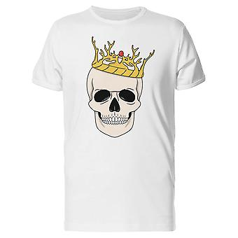 King Skull With His Crown Tee Men's -Image by Shutterstock