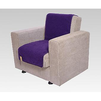 Seat saver wool of purple 150 cm x 50 cm