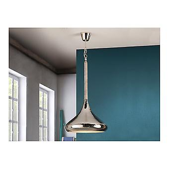 Schuller Moroccan Nickel Hanging White Patina Ceiling Light Pendant With Hammered Finish