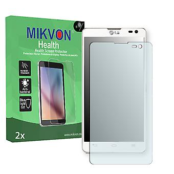 LG D605 Optimus L9 II Screen Protector - Mikvon Health (Retail Package with accessories)
