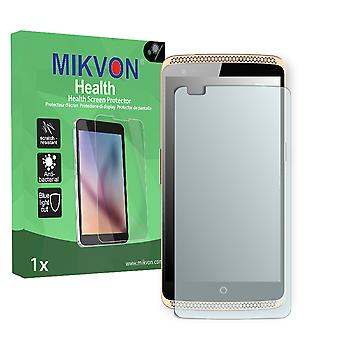 ZTE Axon Elite Screen Protector - Mikvon Health (Retail Package with accessories) (intentionally smaller than the display due to its curved surface)
