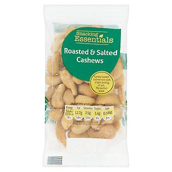 Snacking Essentials Roasted & Salted Cashews