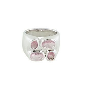 Esprit Damen Ring Silber Radiant Purple Pink  ESRG90861A1