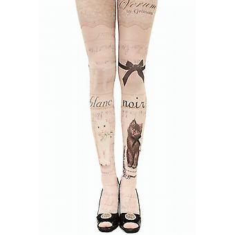 Waooh - Fashion - cats printed tights