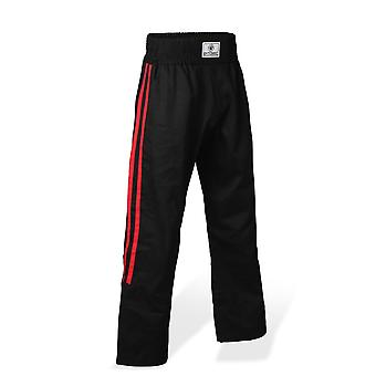Bytomic elity spodnie kontaktowe czarno czerwony