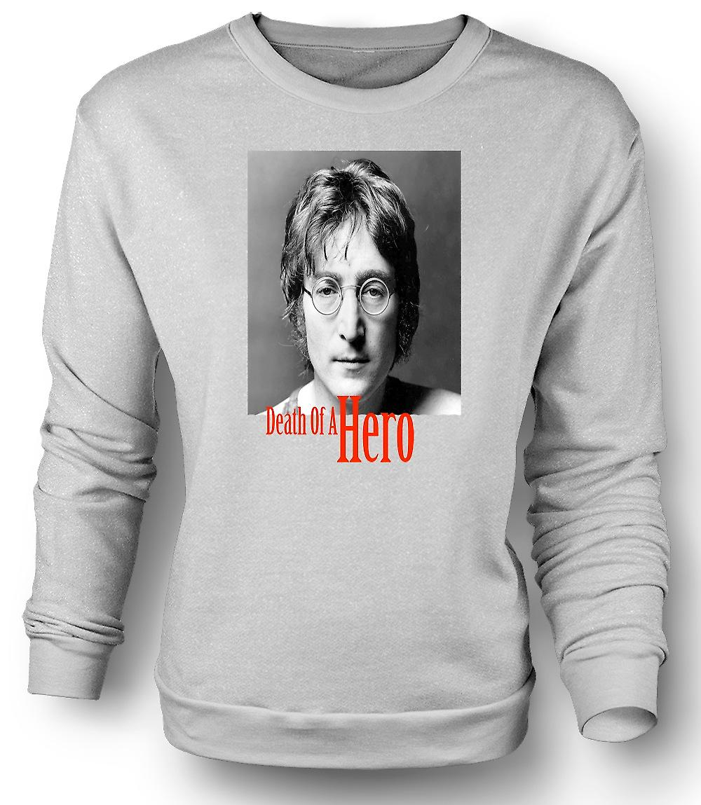 Mens Sweatshirt John Lennon - Death Of Hero