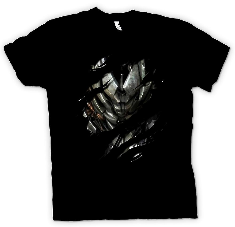 Kids T-shirt - Megatron Ripped Design - Transformers Inspired