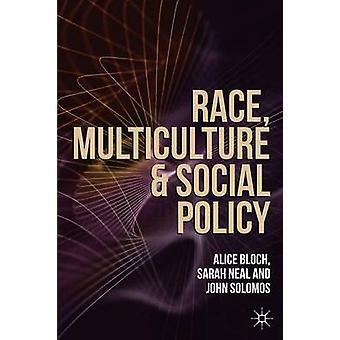 سباق-سياسة التعدد الثقافي والاجتماعي قبل بلوخ أليس-سارة نيل-ي