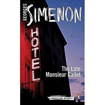De Late Monsieur Gallet: Inspecteur over Maigret #2