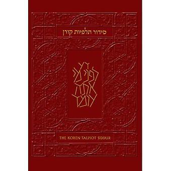 The Koren Talpiot Siddur: A Hebrew Prayerbook with English Instructions, Ashkenaz