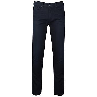 Boss Charleston Dark Blue Knit Denim Jean