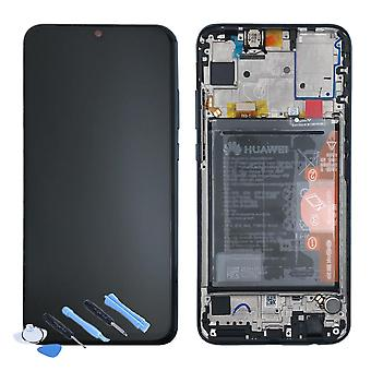 Huawei display LCD unit + 10 Lite Service Pack 02352GWN black / black frame for honor new