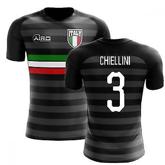 2018-2019 Italy Third Concept Football Shirt (Chiellini 3)
