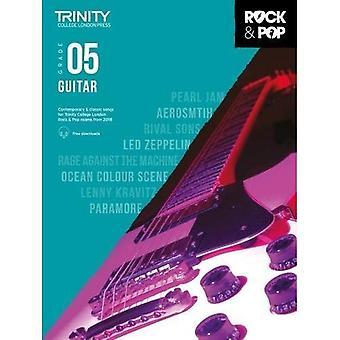 Trinity Rock & Pop 2018 Guitar Grade 5 - Trinity Rock & Pop 2018 (Sheet music)