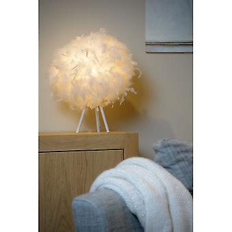 Lucide Goosy Soft Modern Round Synthetic Material White Table Lamp