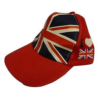Union Jack porter I Love Grande-Bretagne casquette de Baseball