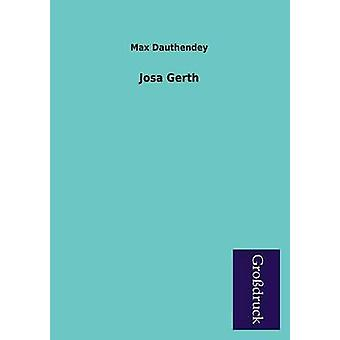 Josa Gerth by Dauthendey & Max
