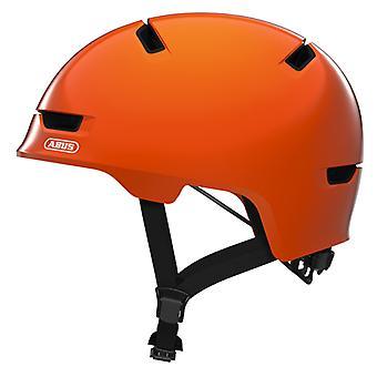 Abus Scraper Kid 3.0 Fahrradhelm // shiny orange
