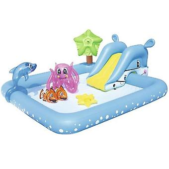 Children's pool with inflatable bath toys-308 L