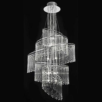 Endon CAMILLE-24CH Contemporary 24 Light Glass Chandelier