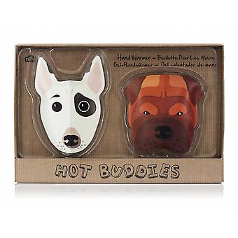 Hot Buddies Dogs Reusable Gel Hand Warmers (Pair)