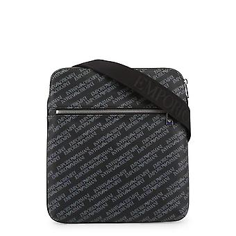 Emporio Armani  Men Black Crossbody Bags -- Y4M1873264