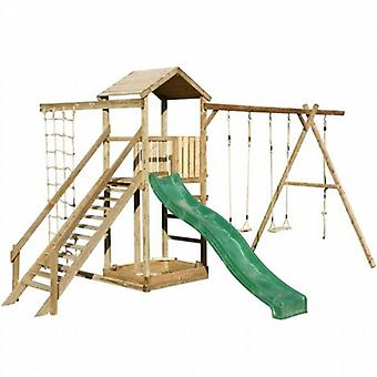 Action Monmouth Single Tower Wooden Climbing Frame