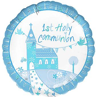 Anagram 18 Inch 1st Holy Communion Circle Foil Balloon
