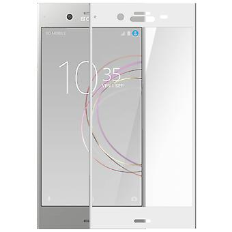 Xperia XZ1 Bildschirm Tempered Glass Film Explosion-Proof Breakage White