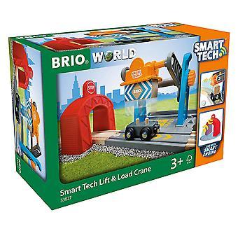BRIO World - Smart Tech Railway - Harbour Crane
