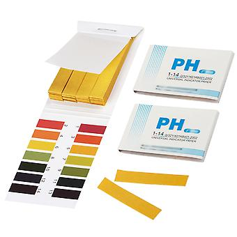 TRIXES Pack of 2 Litmus pH 1 to 14 Test Paper Book 80 Strips