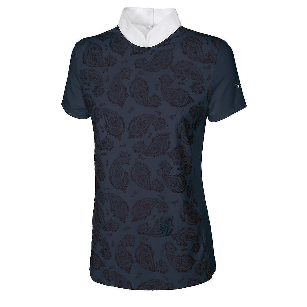 Pikeur Skara femmes Competition Shirt - Navy bleu