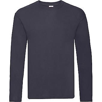 Fruit Of The Loom - Mens Original Long Sleeve Tee T-Shirt