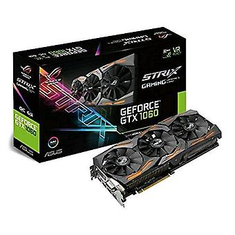 Asus strix-gtx1060-o6g-gaming graphics card nvidia geforce gtx1060 6gb gddr5 1.873 mhz with fan