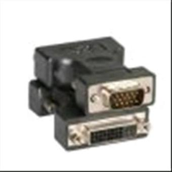 Itb Lösung cro12033110 vga Adapter männlich/dvi-i weiblich schwarz Farbe