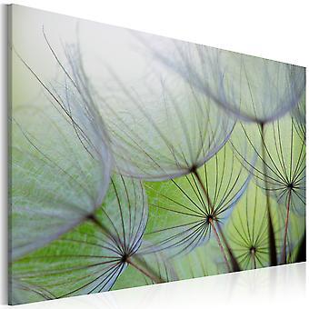 Artgeist Canvas Print Dandelion In The Wind (Decoratie , Schilderijen , Doeken)