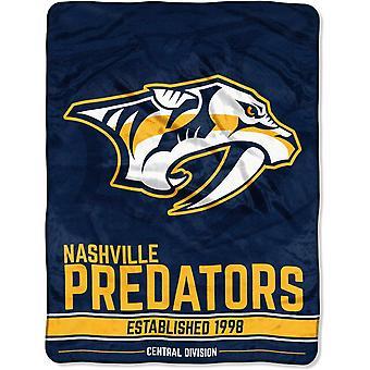 Northwest NHL Nashville Predators Micro Plush Blanket 150x115c