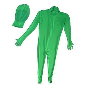 BRESSER BR-C2M zweiteiliger Chromakey grüner Anzug Größe: M