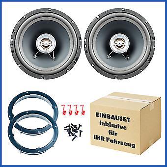 Mac Audio Edition 162 speaker built-in set door front suitable for BMW 3 E46 sedan/coupe