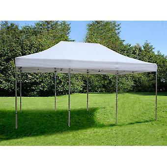 Faltzelt FleXtents Easy up pavillon Xtreme 4x6m Weiß, Flammenhemmend