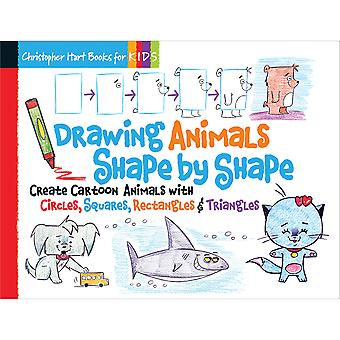 Sixth & Springs Books-Drawing Animals Shape By Shape SSB-09695